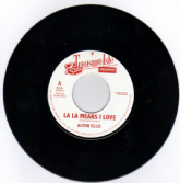 Alton Ellis - La La Means I Love / Melodians - Passion Love (Treasure Isle) UK 7""